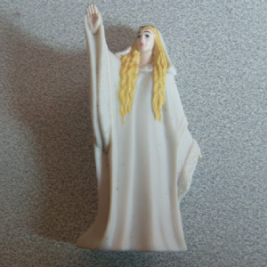 Burger King 2001 Lord Of The Rings Galadriel Figure